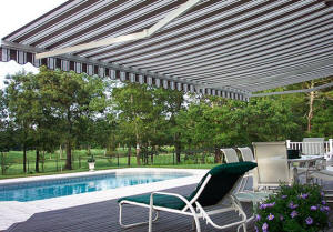 Total Eclipse poolside awning