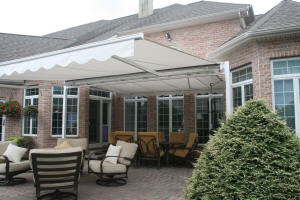 Free Standing Retractable Awning
